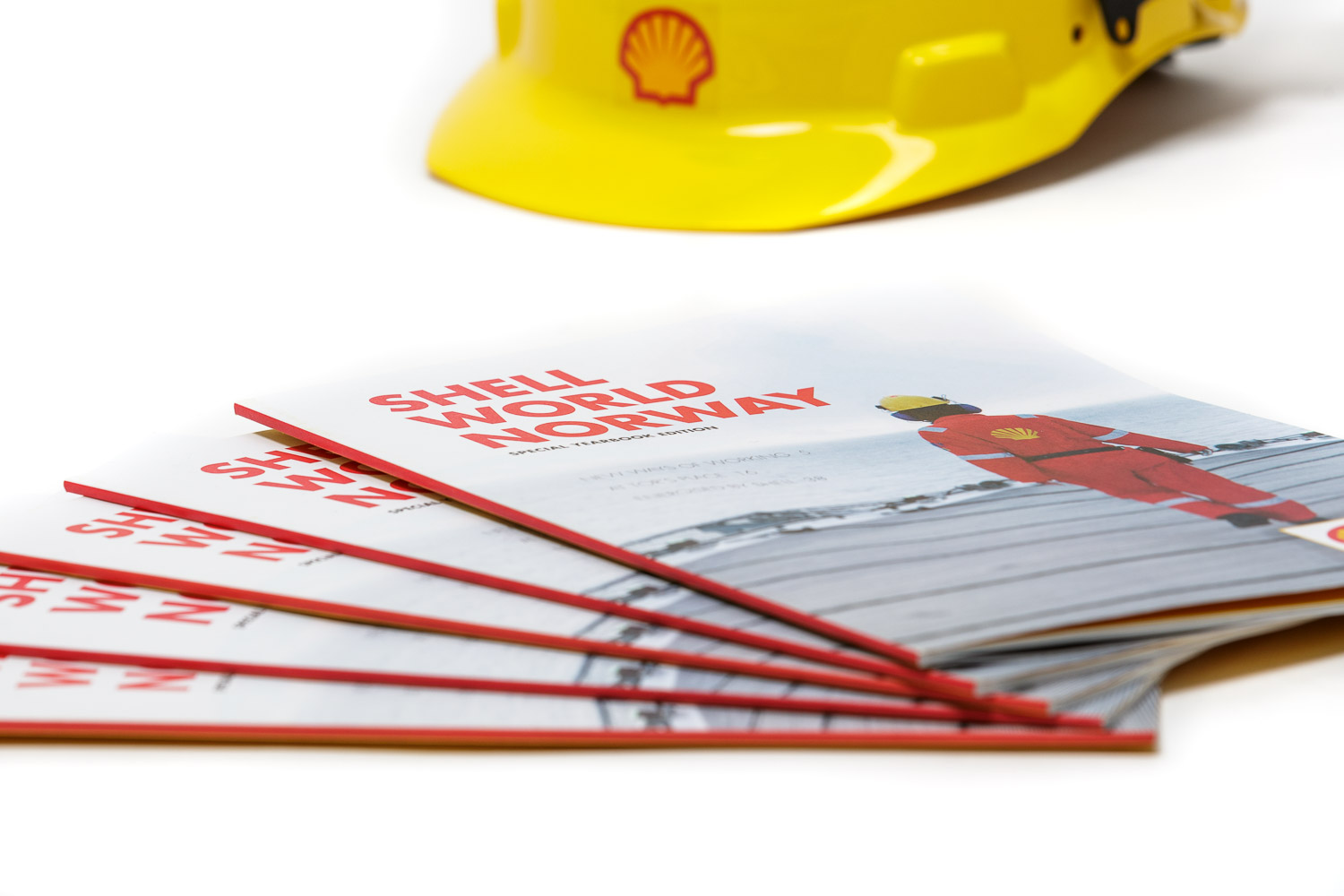 Shell World Norway magasin for AS Norske Shell