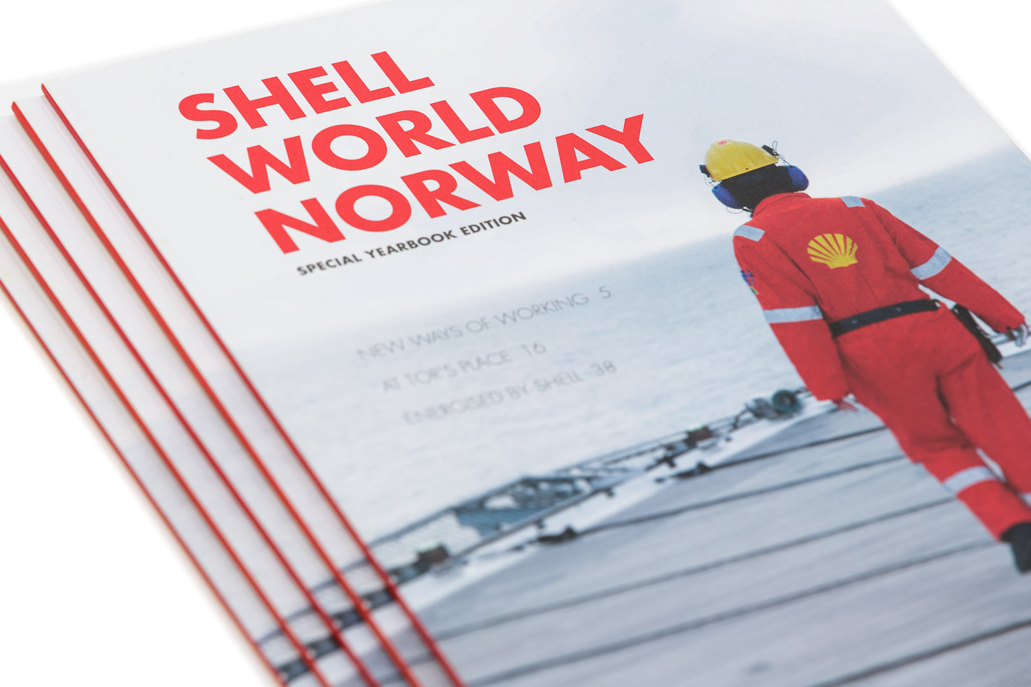 Shell World Norway magasin for AS Norske Shell.