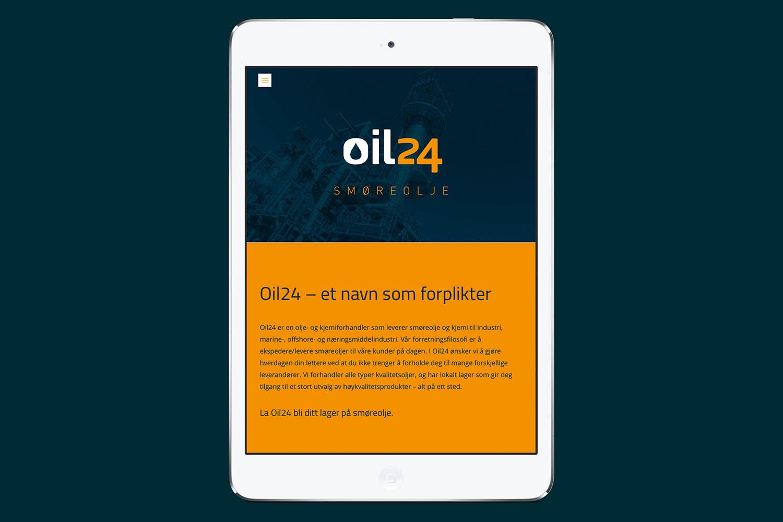 oil24 nettbrett - nettsider