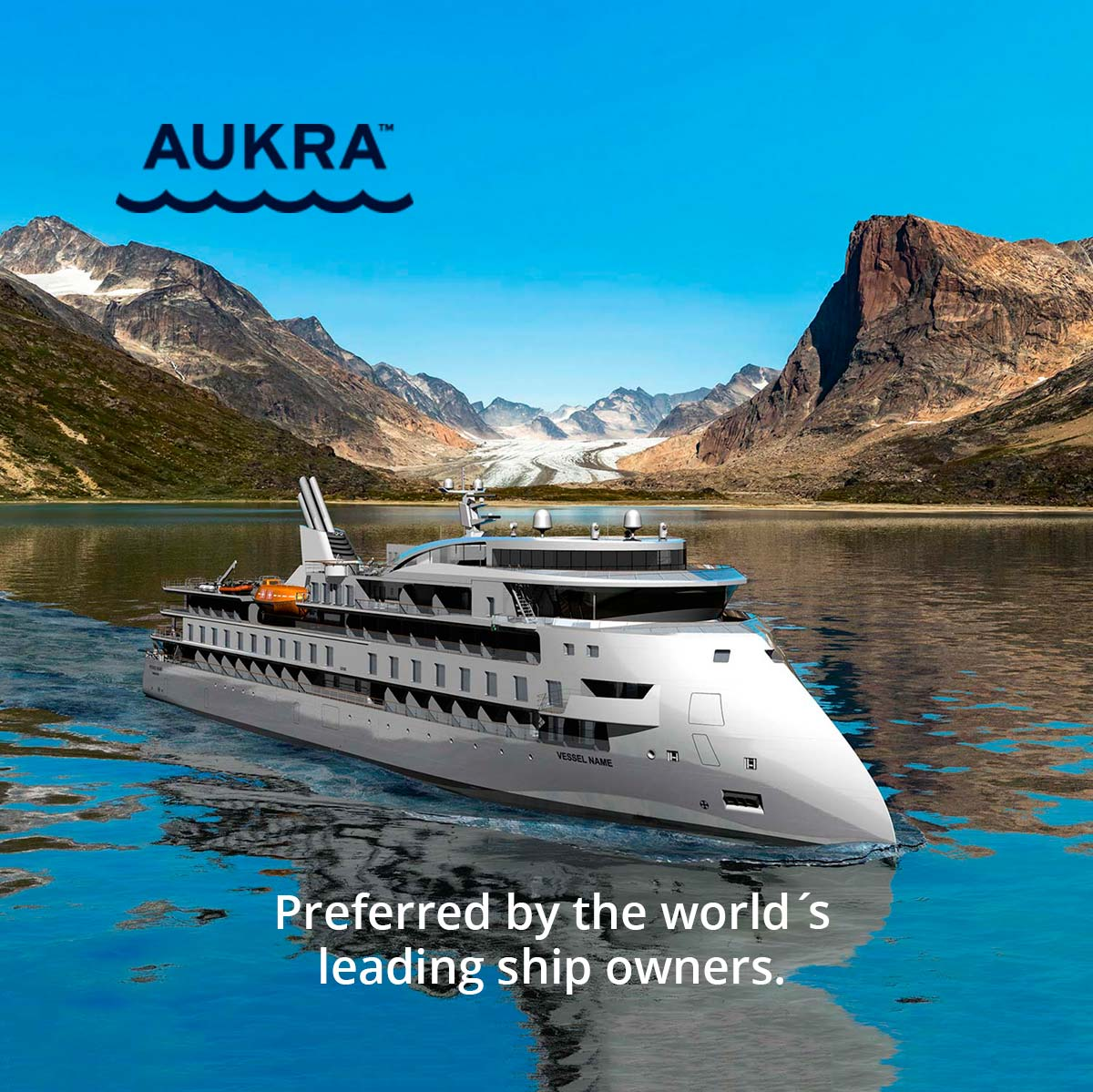 Aukra Maritime cruise prosjekt Grafia